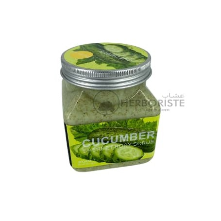 Gommage au concombre pour le visage - 300ml