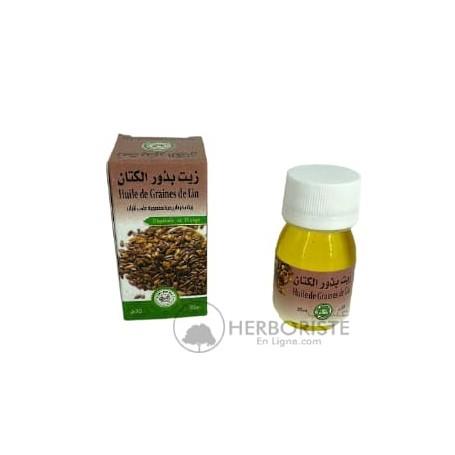 Huile de graines de Lin - 30ml - زيت بذر الكتان