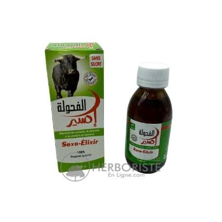 Sexo Elixir pour Augmenter la Puissance Sexuelle (sans sucre) - 125ml