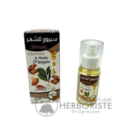 Sérum à l'huile d'argan pour les cheveux - 60ml