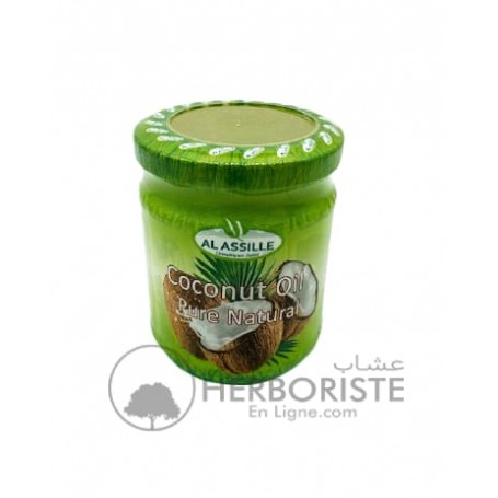 Huile de coco 100% pure - 200 ml-زيت الكوك الطبيعي