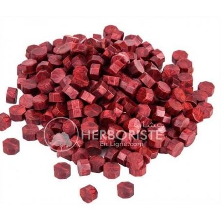 Lk - Cire à cacheter en morceaux couleur rouge - 10g - الشمع الأحمر - للك