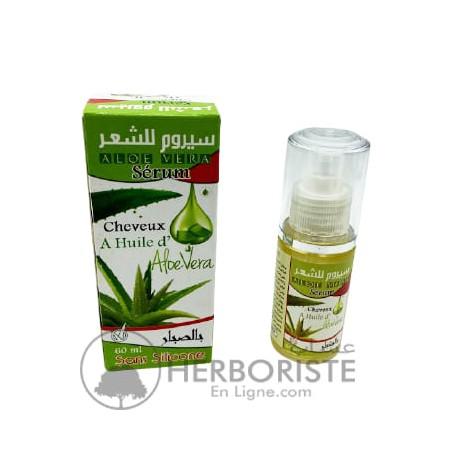 Sérum à l'huile d'Aloe vera pour les cheveux - 60ml