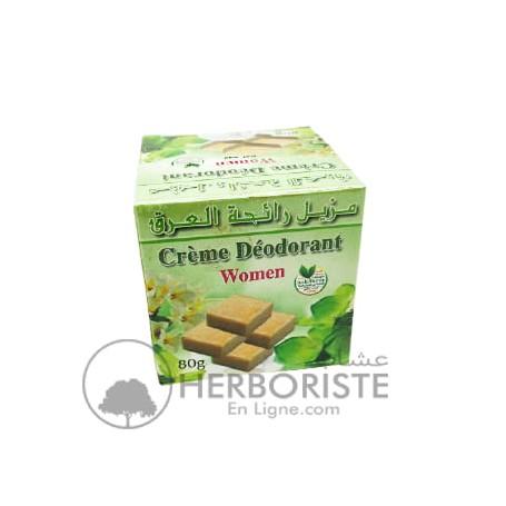 Crème déodorante pour femme - 80g