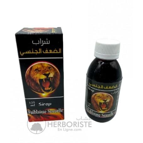 Sirop naturel faiblaisse sexuelle - 125ml