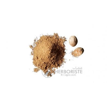 Noix de Muscade moulue - Gouza Chark - 50g -  جوزة الشرك