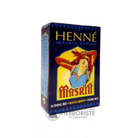 Henné - Henna Masria rapide - Rouge ardent - 90g - حناء مصرية