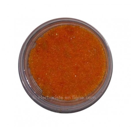 Grains De Salba Couleur Orange - حبوب السالبة البرتقالية