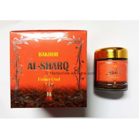 Encens Oud Couleur Orange Bakhor Al-Sharq - بخور الشرق