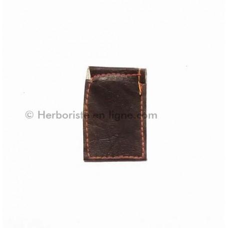 Pochette Marron En Cuir - حقيبة صغيرة بنية جلدية