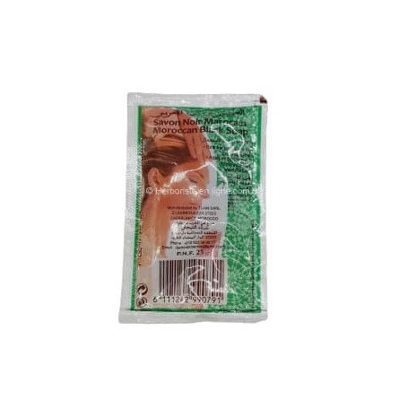 Savon Noir Beldi Sachet Mini Pocket - 25g