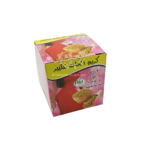 Crème naturelle 2en1 pour grossir les fesses &  les seins