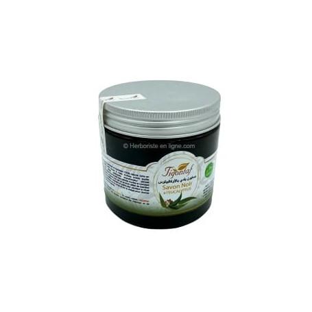 Savon noir naturel à l'eucalyptus - 200g