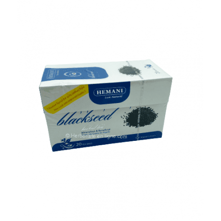 Tisane à la graine de nigelle noire (Habba Sawda) - Black Seeds Tea