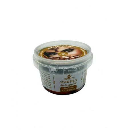 Savon Noir Beldi à l'huile D'argan - 250g