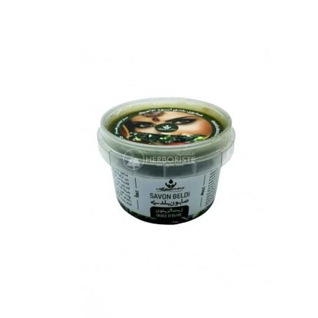 Savon Noir Beldi à l'huile d'olive - 250g